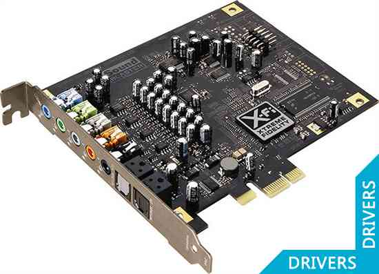 Звуковая карта Creative PCI Express X-Fi Titanium (SB0882)
