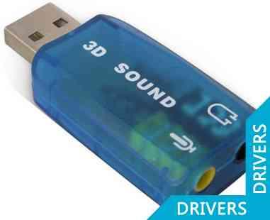 Звуковая карта Dynamode USB-SOUNCARD2.0