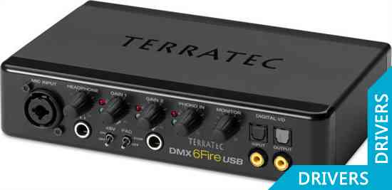 �������� ����� Terratec DMX 6Fire USB