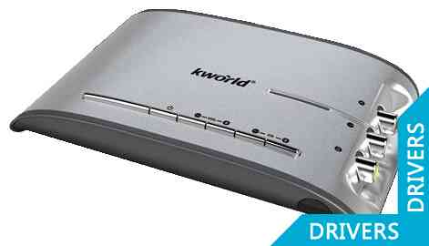 ТВ-тюнер KWorld External TVBox 1920ex