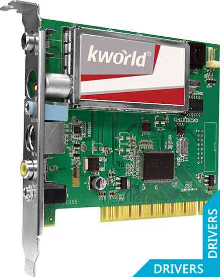 ТВ-тюнер KWorld PCI Analog TV Card LE (KW-PC155-A)