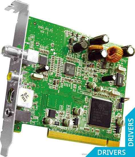 ��-����� KWorld PCI DVB-S TV Card