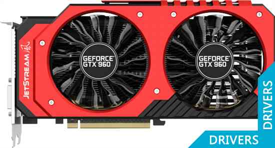 Видеокарта Palit GeForce GTX 960 JetStream 2GB GDDR5 (NE5X960H1041-2060J)