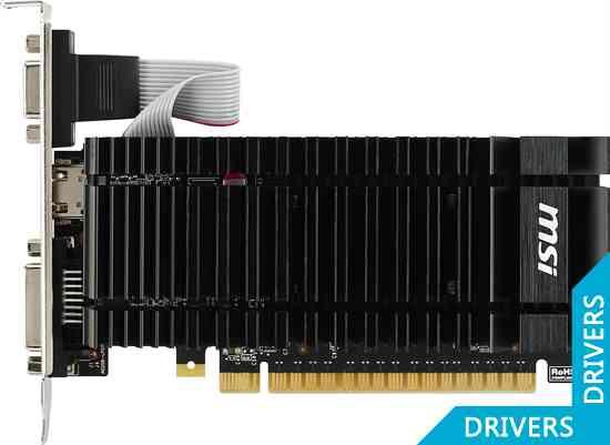 ���������� MSI GeForce GT 720 1024MB GDDR5 (N720-1GD5HLP)