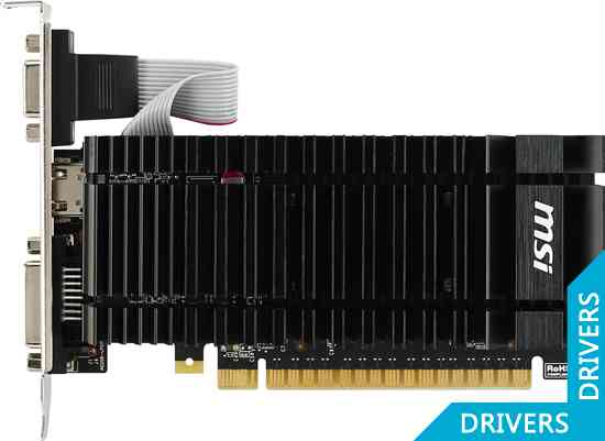 Видеокарта MSI GeForce GT 720 2GB GDDR5 (N720-2GD5HLP)