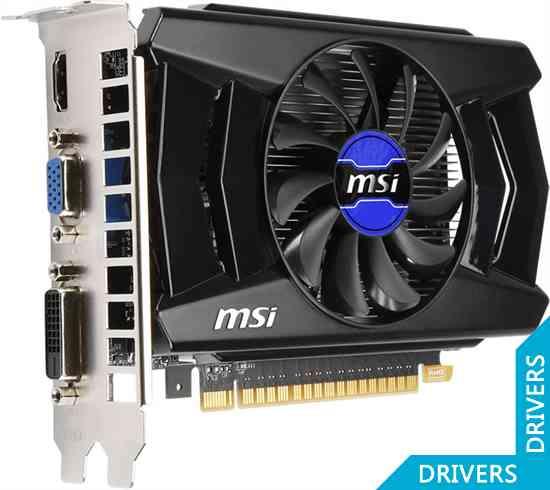 Видеокарта MSI GeForce GT 730 OC 1024MB GDDR5 (N730K-1GD5/OC)