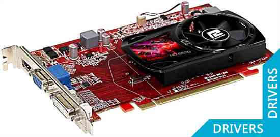 ���������� PowerColor HD 6570 1024MB DDR3 (AX6570 1GBD3-HE)