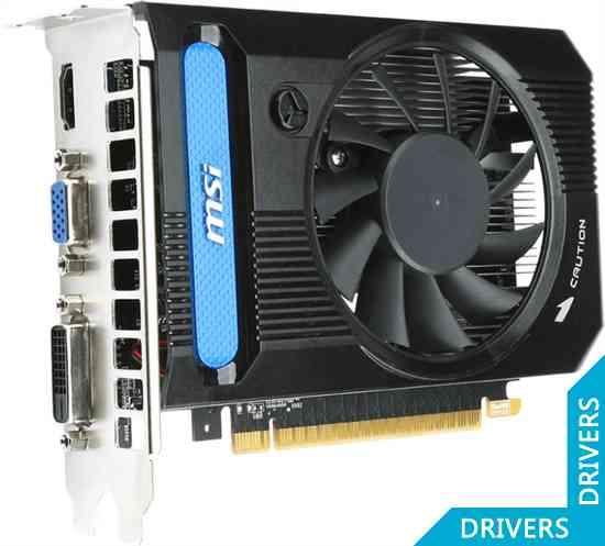 Видеокарта MSI GeForce GT 730 OC 1024MB DDR3 (N730K-1GD3/OC)