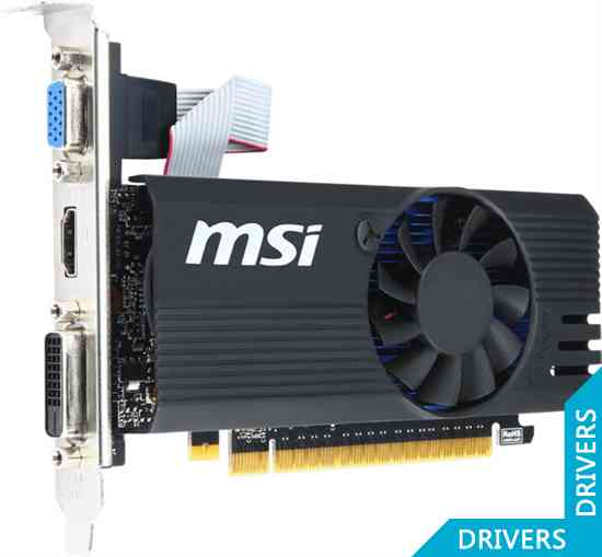 Видеокарта MSI GeForce GT 730 OC 2GB GDDR5 (N730K-2GD5LP/OC)