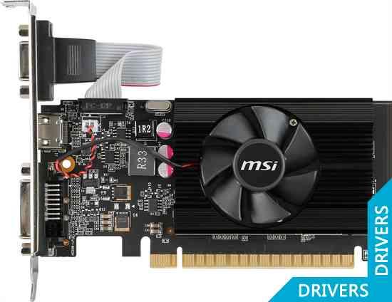 ���������� MSI GeForce GT 720 2GB DDR3 (N720-2GD3LP)