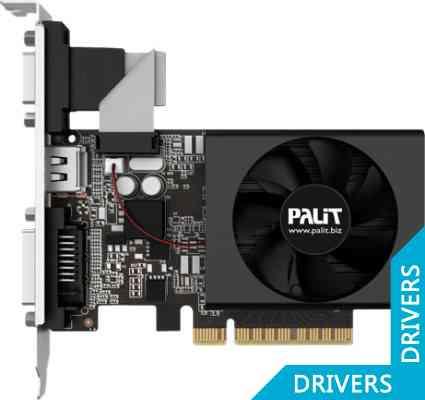 Видеокарта Palit GeForce GT 720 2GB DDR3 (NEAT7200HD46-2080F)