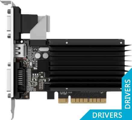 Видеокарта Palit GeForce GT 720 2GB DDR3 (NEAT7200HD46-2080H)