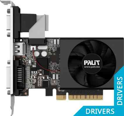 Видеокарта Palit GeForce GT 720 1024MB DDR3 (NEAT7200HD06-2080F)