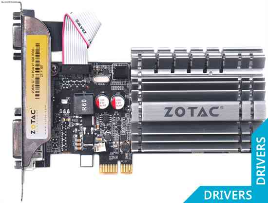 Видеокарта ZOTAC GeForce GT 730 1024MB DDR3 (ZT-71107-10L)