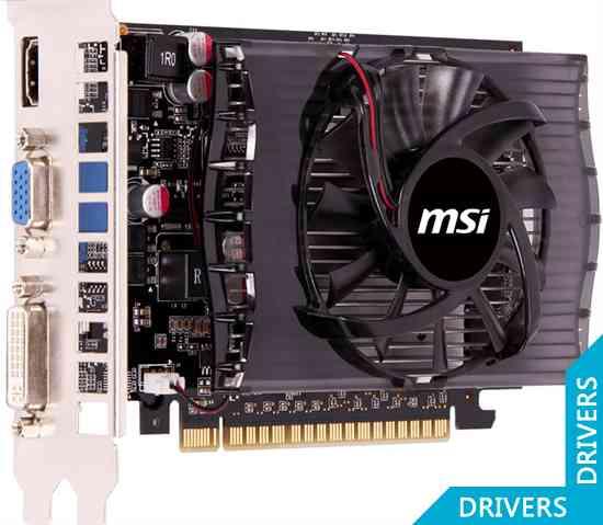 ���������� MSI GeForce GT 730 2GB DDR3 (N730-2GD3)