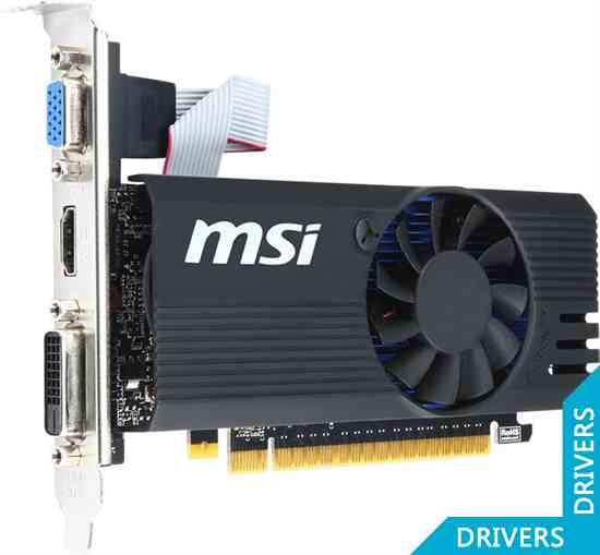 Видеокарта MSI GeForce GT 730 OC 1024MB GDDR5 (N730K-1GD5LP/OC)