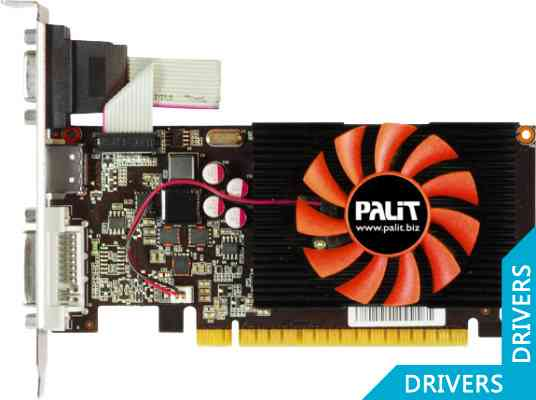 Видеокарта Palit GeForce GT 730 1024MB DDR3 (NEAT7300HD01-1085F)