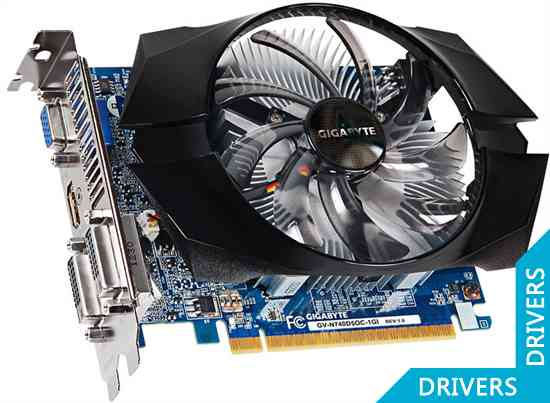 ���������� Gigabyte GeForce GT 740 OC 1024MB GDDR5 (GV-N740D5OC-1GI)