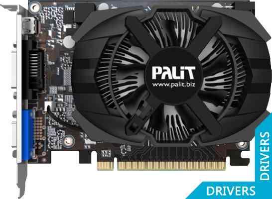 ���������� Palit GeForce GT 740 1024MB GDDR5 (NE5T74001301-1073F)