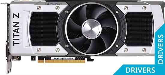 ���������� Gigabyte GeForce GTX TITAN Z 12GB GDDR5 (GV-NTITANZD5-12GD-B)
