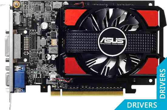 ���������� ASUS GeForce GT 740 2GB DDR3 (GT740-2GD3)