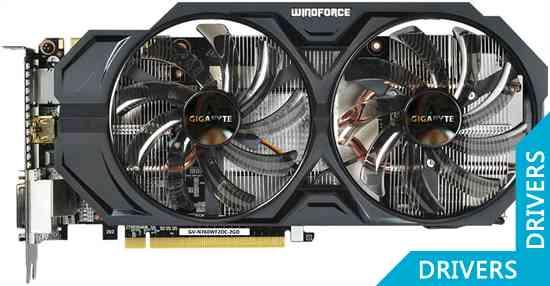 ���������� Gigabyte GeForce GTX 760 WindForce 2 OC 2GB GDDR5 (GV-N760WF2OC-2GD)