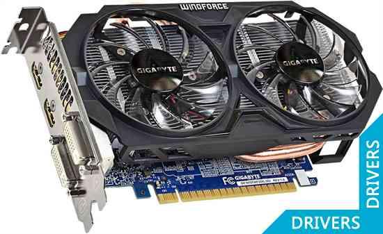 Видеокарта Gigabyte GeForce GTX 750 Ti WindForce 2 OC 2GB GDDR5 (GV-N75TWF2OC-2GI)