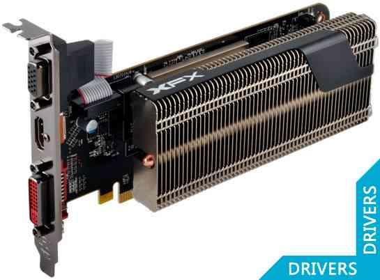 ���������� XFX R7 240 1024MB DDR3 (R7-240A-ZLH4)