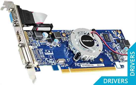 Видеокарта Gigabyte R5 230 1024MB DDR3 (GV-R523D3-1GL (rev. 1.1))