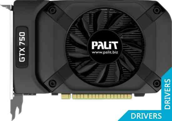 ���������� Palit GeForce GTX 750 StormX 2GB GDDR5 (NE5X75001341-1073F)