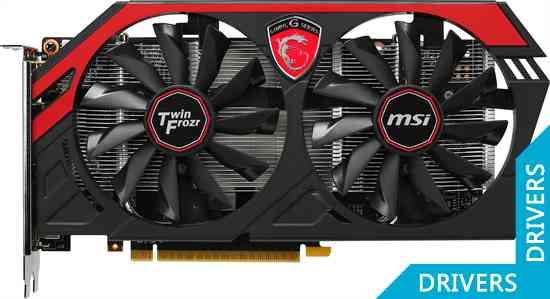 Видеокарта MSI GeForce GTX 750 Ti Gaming 2GB GDDR5 (N750Ti TF 2GD5/OC)