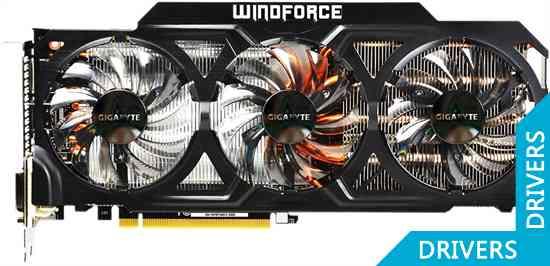 Видеокарта Gigabyte GeForce GTX 780 Ti WindForce 3 3GB GDDR5 (GV-N78TWF3-3GD)