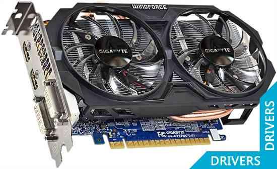 ���������� Gigabyte GeForce GTX 750 Ti OC 2GB GDDR5 (GV-N75TOC-2GI)