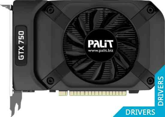 Видеокарта Palit GeForce GTX 750 StormX OC 1024MB GDDR5 (NE5X750S1301-1073F)