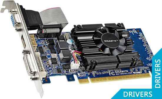 ���������� Gigabyte GeForce GT 610 1024MB DDR3 (GV-N610-1GI (rev. 1.0))