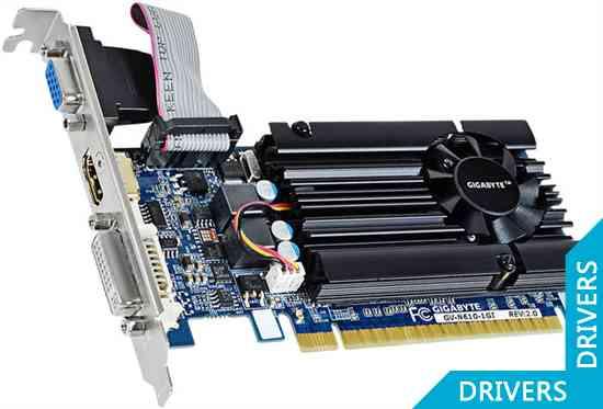 ���������� Gigabyte GeForce GT 610 1024MB DDR3 (GV-N610-1GI (rev. 2.0))