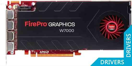 ���������� AMD FirePro W7000 4GB GDDR5 (100-505634)