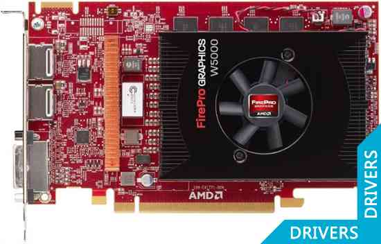 Видеокарта AMD FirePro W5000 2GB GDDR5 (100-505635)