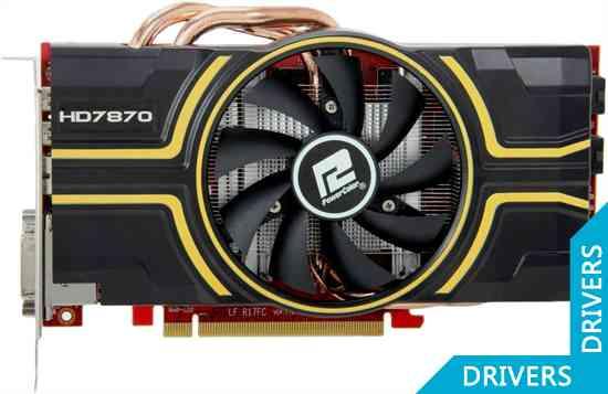 Видеокарта PowerColor HD 7870 OC 2GB GDDR5 (AX7870 2GBD5-2DHE/OC)
