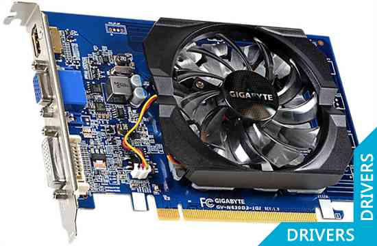 Видеокарта Gigabyte GeForce GT 630 1024MB DDR3 (GV-N630D3-1GI)