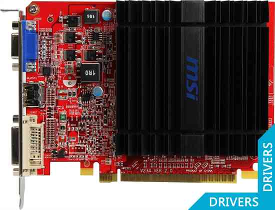 ���������� MSI HD 6450 1024MB DDR3 (R6450-MD1GD3H)