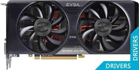 Видеокарта EVGA GeForce GTX 760 Dual FTW 4GB GDDR5 (04G-P4-3768)