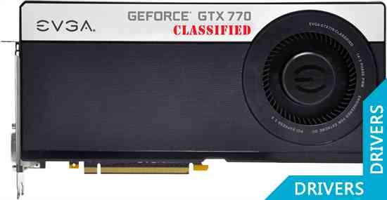 Видеокарта EVGA GeForce GTX 770 4GB Dual Classified 4GB GDDR5 (04G-P4-3777)