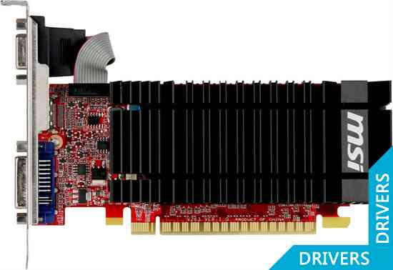 Видеокарта MSI GeForce GT 610 1024MB DDR3 (N610-1GD3H/LP)
