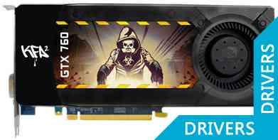 Видеокарта KFA2 GeForce GTX 760 2GB GDDR5