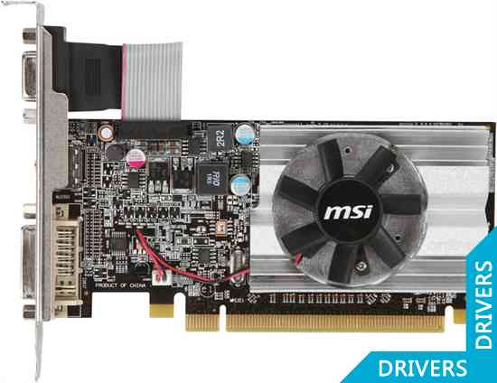 Видеокарта MSI HD 6450 1024MB DDR3 V2 (R6450-MD1GD3/LP V2)