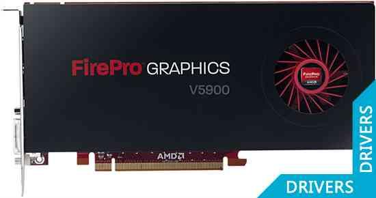 ���������� AMD FirePro V5900 2GB GDDR5 (100-505648)