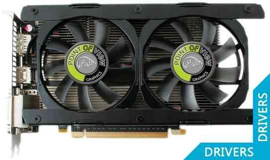 Видеокарта Point of View GeForce GTX 660 2GB GDDR5 (VGA-660-A1-2048)