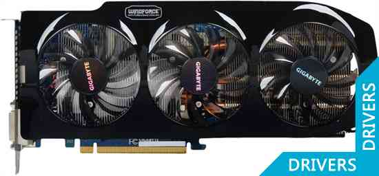 Видеокарта Gigabyte GeForce GTX 660 Ti WindForce 3 3GB GDDR5 (GV-N66TWF3-3GD)