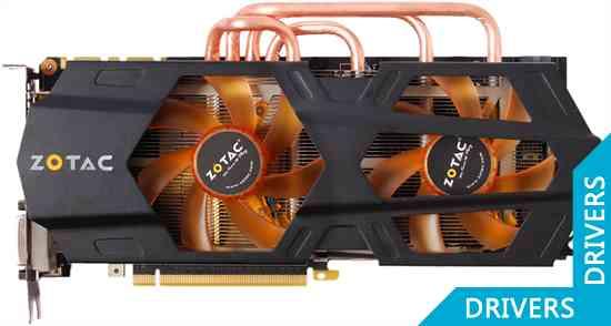 ���������� ZOTAC GeForce GTX 680 AMP! 2GB GDDR5 (ZT-60102-10P)